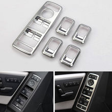 Buy Chrome ABS Car Interior Window Trim Lift Switch Button Covers Styling Sticker Fit Benz GLK ML GLA 156 B C E Class 2014 2015 for $25.99 in AliExpress store