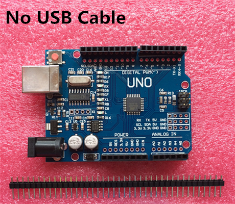 Best prices!!! high quality UNO R3 MEGA328P for Arduino UNO R3 NO USB CABLE(China (Mainland))