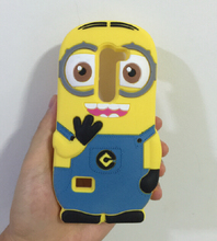 3D Despicable 2 Minions Soft Silicone Back Cover Case LG Leon 4G LTE H340N C50 C40 - ALEX ZHOU Store store