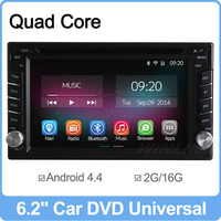 Ownice C200 Quad Core Android 4.4 Universal 2din Car Radio DVD Player GPS Navigation Bluetooth Support DVR OBD2 DTV DDR 2G/16GB