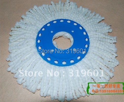 360 spin mop refill 360 microfiber mophead easy life mophead(China (Mainland))