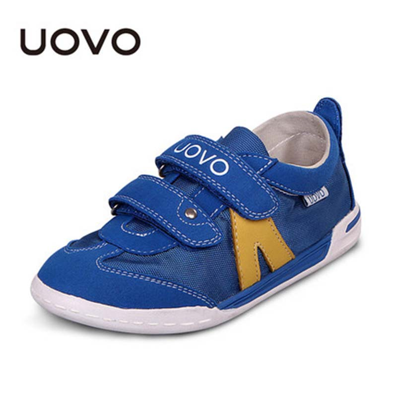 Uovo Brand Small Big Kids Loafers Breathable Mesh Casual Sneakers Boys Girls Fashion Outdoor Sport Shoes Running Tenis Zapatos - QL KIDS LOVE store