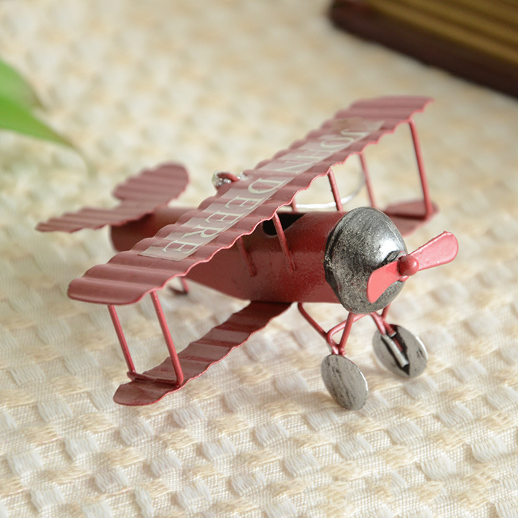 Free Shipping/Model metal model vintage / antique style plane / aircraft toys/ Gift / vintage home decor /ww2 model airplane(China (Mainland))