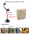 Rechargeable AR924 underground metal detector for gold digger treasure hunter Industrial Metal Detectors