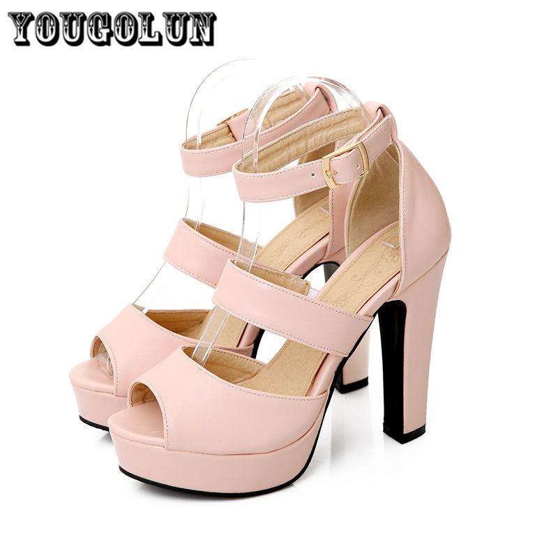woman open toe spike high heels gladiator sandals ladies summer shoes 2016 fashion pink beige green women platform sandal womens