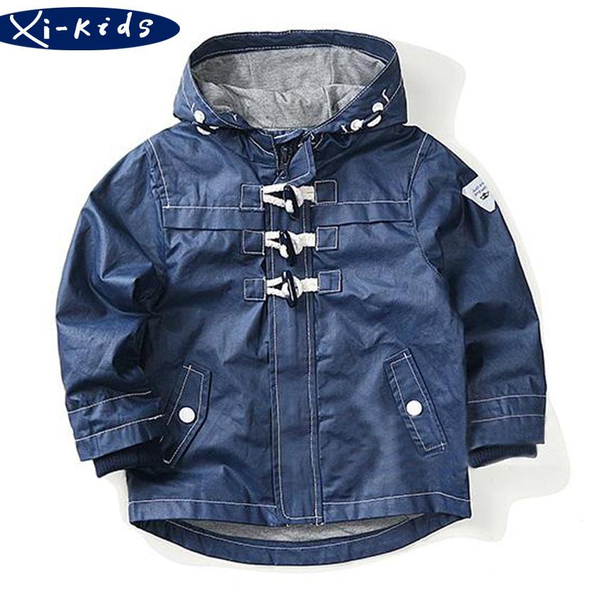 Aliexpress.com  Buy Boys Windbreaker Zipper Sweater Long Trench Coat Jackets Kid Trench Coat ...