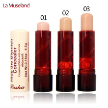 Hot, Women's face care Concealer Hide The Blemish Creamy Concealer Stick Facial Make Up wholesale #1680(China (Mainland))