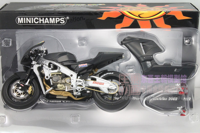 Special mini cut 1:12 Honda RC211V 46 motorcycle grand prix, rossi 2002 model year<br><br>Aliexpress