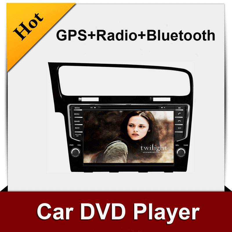 NEWS 2 din 7'' VW Golf 7 dvd player with GPS touch screen ,steering wheel control,ipod,stereo,radio(China (Mainland))