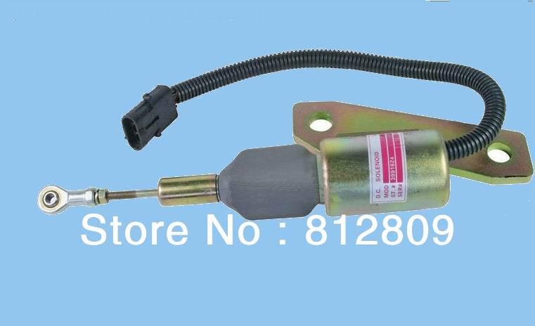 3991624 Fuel Shutdown Solenoid Valve SA-4959-12 for 6BT 5.9L I Excavator + free fast shipping by TNT,DHL,UPS(China (Mainland))