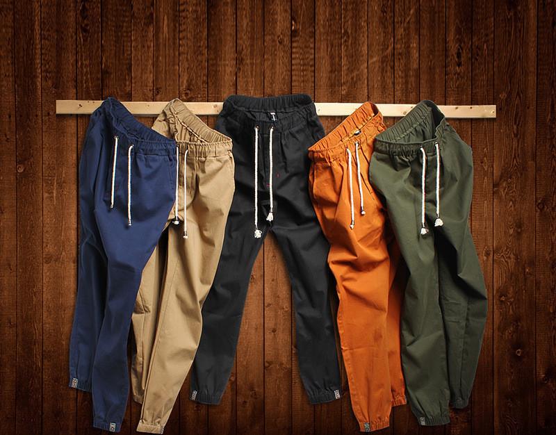 Men's Harem Pants Fashionable Personality Casual Hip Hop Dance Male Trousers joggers sweatpants big size 5XL - Online Store 615258 Licy-Jenny store