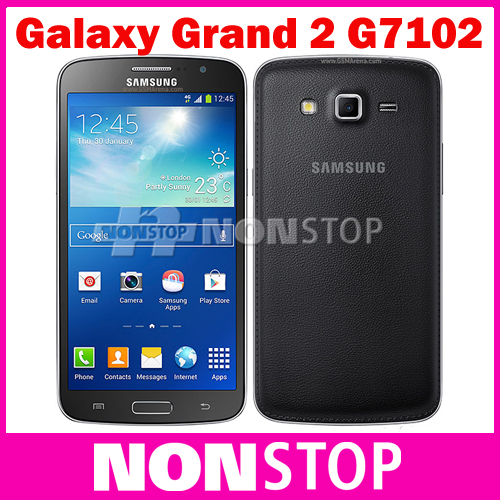 Unlocked Samsung Galaxy Grand 2 G7102 8MP GPS WIFI Dual SIM Quad-core Refurbished Mobile Phone(China (Mainland))