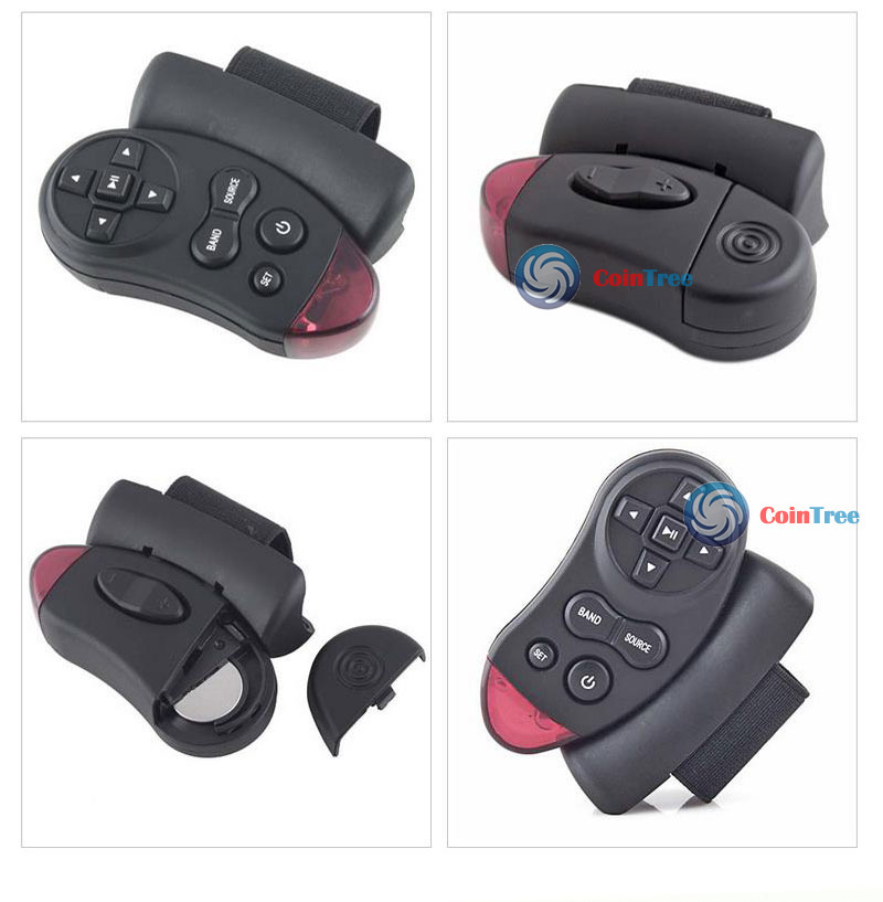 ChicGirl Car Universal Steering Wheel Remote Control Learning(China (Mainland))