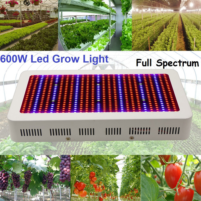600W led grow light Full Spectrum Red/Blue/White/UV/IR AC85~265V 594 SMD 5730  for hydroponics greenhouse Grow Tent LED Lamp<br><br>Aliexpress