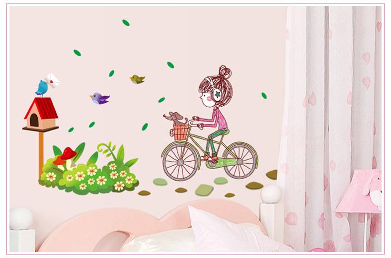 New 2014 Princess Love Wall Stickers Home Decor Or Kids