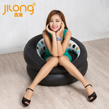 New Inflatable Sofa authentic inflatable sofa leather sofa cushion stool single flocking adult children leisure chair(China (Mainland))
