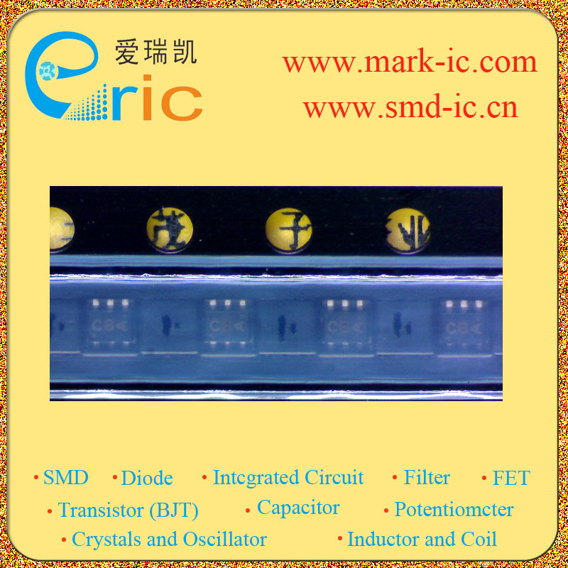 SI1024X Transistor MOSFET Dual N-Channel 20V 0.485A SC-89 Marking CB 0.25W Power Supply COverter Circuits(China (Mainland))