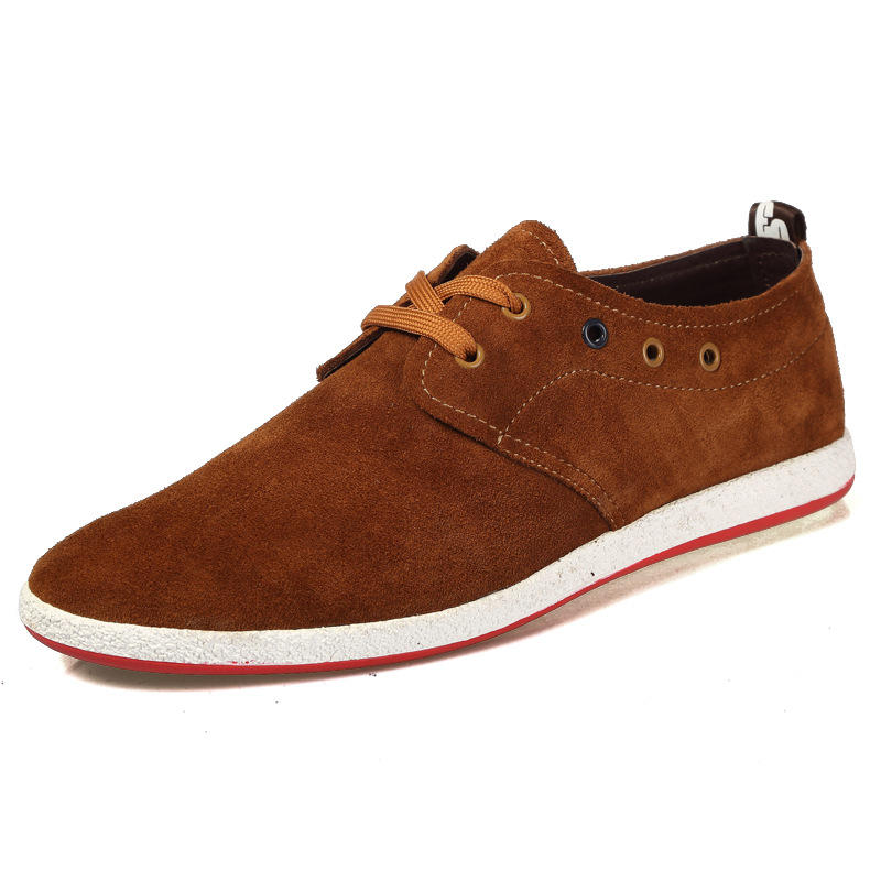 mens shoes leather shoes brand shoe for casual
