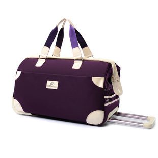 High Quality Polyester Travel Bag On Wheels,Trolley Bag,Oxford Bag(China (Mainland))
