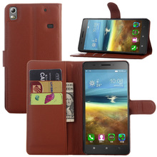 lenovo K50 cell phone leather case slot card bracket protective sleeve Lenovo A7600 mobile phone sets