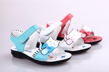 2013 New style Spring Summer Fashion Children Sandals Genuine Leather sandals for kids Children Shoes Free Shipping