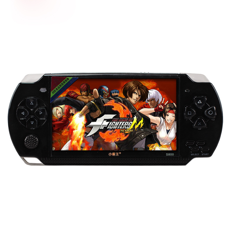 """8GB 4.3"""" LCD screen TV-Out handheld game player game console MP5 player built-in free 2000+ games ebook/FM/1.3 MP Camera(China (Mainland))"""