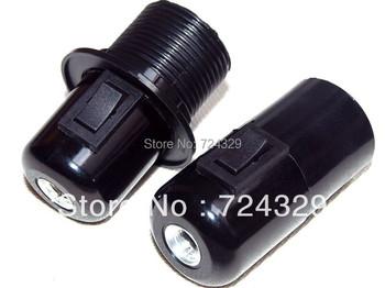 VDE lamp bases with on/off switch E27 bulb base underplating pendant light bakelite floor lamp holder 12PCS free shipping