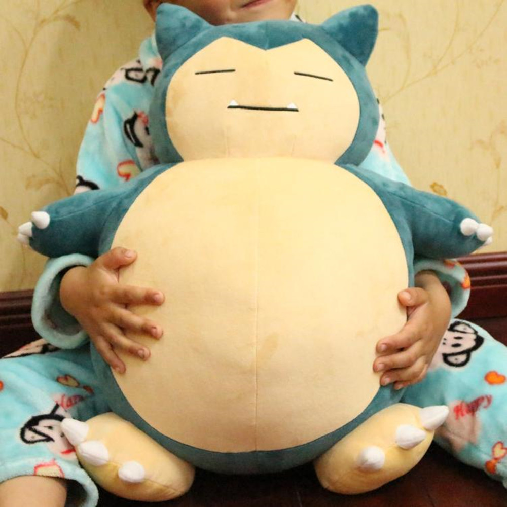 1pc 50cm Anime Pokemon Center Jumbo Snorlax 55cm Stuffed Doll Plush Baby Toys Cotton Soft Stuffed Doll Figure Christmas Gifts(China (Mainland))