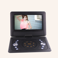 2016 Factory Wholesale Quality Mobile DVD13.8 Inch Portable Player EVD Player With Small TV Mini 13.8inch Television DVD Player