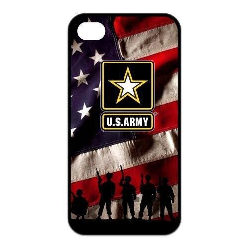 United States Army Logo Tpu Nero cell phone bags case cover for 4S 5C 5S SE 6S 7 Plus IPOD Samsung NOTE IPOD Touch 4 5 HTC SONY(China (Mainland))