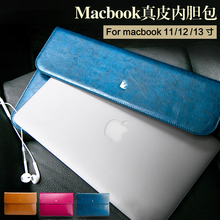 For Apple Macbook Air / pro 11 12 13.3 inch Laptop / notebook Sleeves Leather Sleeve with Limited Free gift