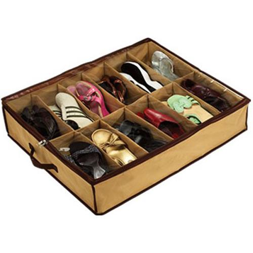 1pcs Free Shipping Shoe Storage Under Bed Wardrobe Organiser Cupboard(China (Mainland))