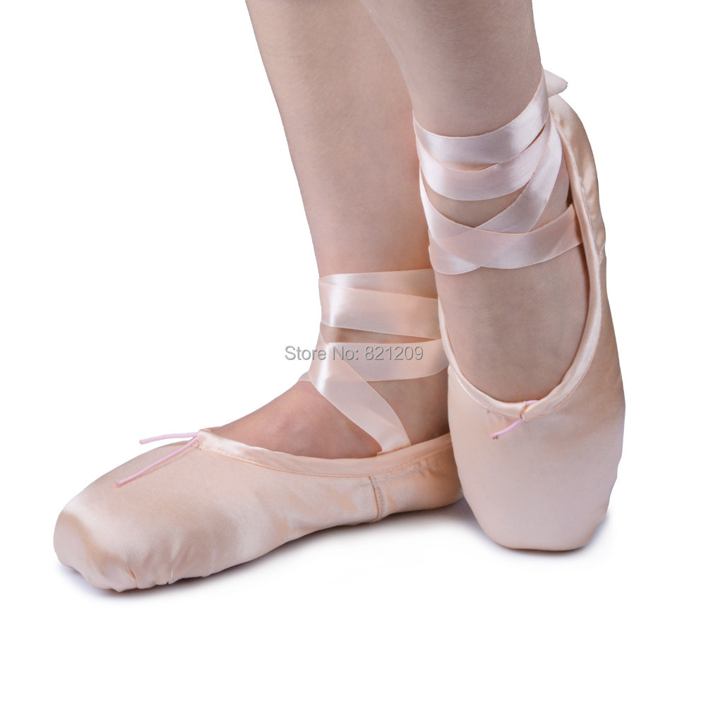 Pink pointe shoes ballet