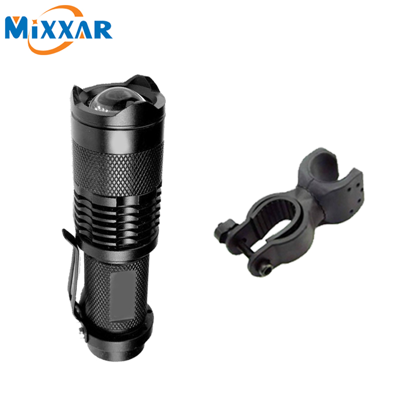 ZK90 LED Flashlight Bicycle Light 2000 Lumens 3 Mode CRE E Q5 LED Cycling Front Light Bike lights Lamp Torch Waterproof Zoomable(China (Mainland))