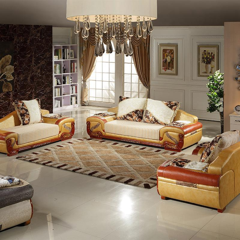 2015new arrive solid wood furniture sofa seats living room for Unique couches living room furniture