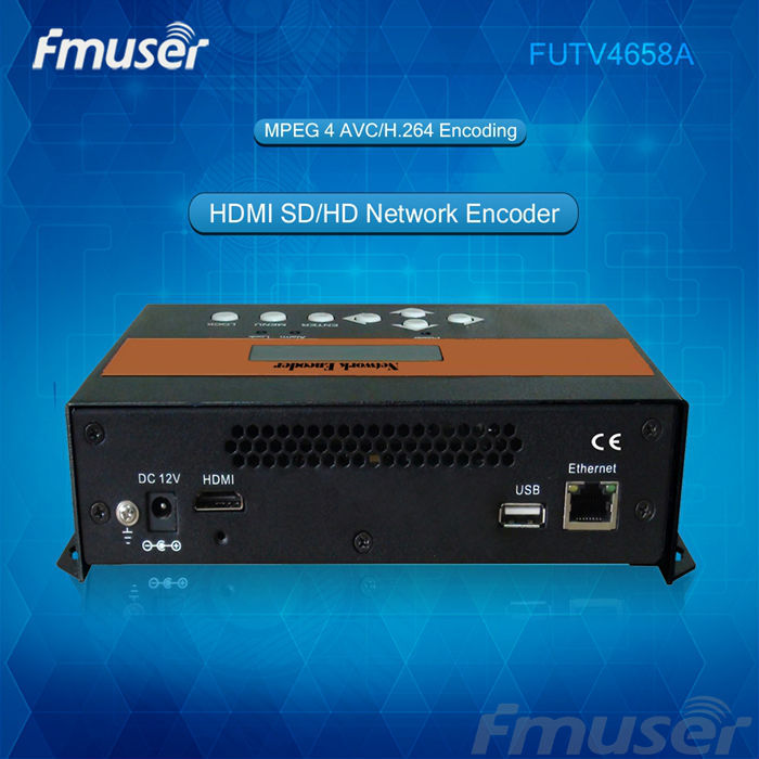 FUTV4658A HDMI MPEG-4 AVC/H.264 SD/HD Network Encoder Modulator(China (Mainland))