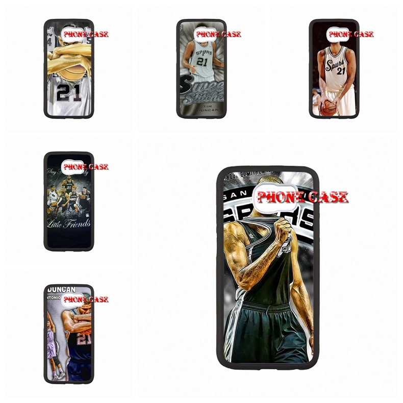 For Samsung Galaxy Note 2 3 4 iPod Touch 4 5 HTC One M7 M8 iPhone SE 4 4S 5S 5 5C 6 6S Plus Tim Duncan Hard PC Mobile Phone(China (Mainland))