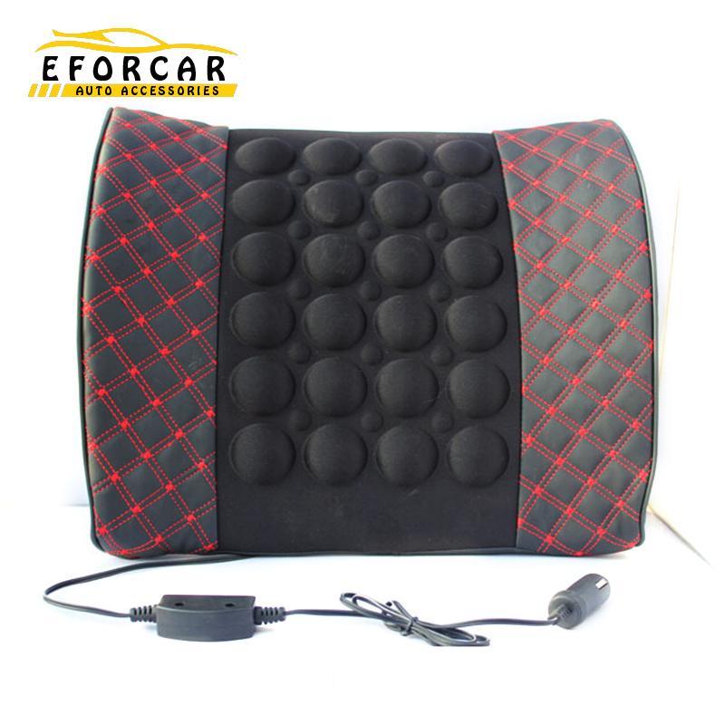 1X Car Office Motor Lumbar Waist Massage Cushion Back/Seat Rest High Quality Retail Wholesale Free Shipping<br><br>Aliexpress
