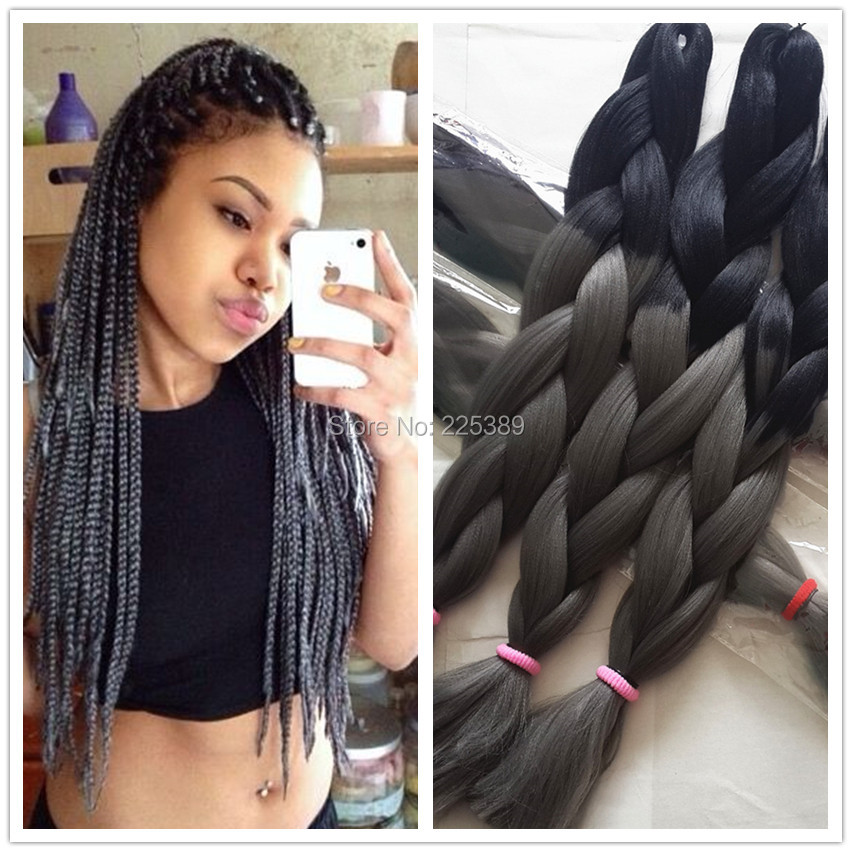 Crochet Braids Grey Hair : 100 Kanekalon Hair Promotion-Shop for Promotional 100 Kanekalon Hair ...