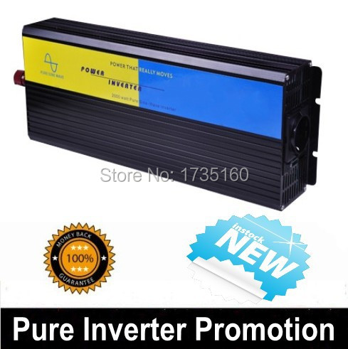Factory Sell 2500W Pure Sine Wave Invertor 12VDC 100V AC Power Invertor tragbare Solar-Wechselrichter 2500W<br>