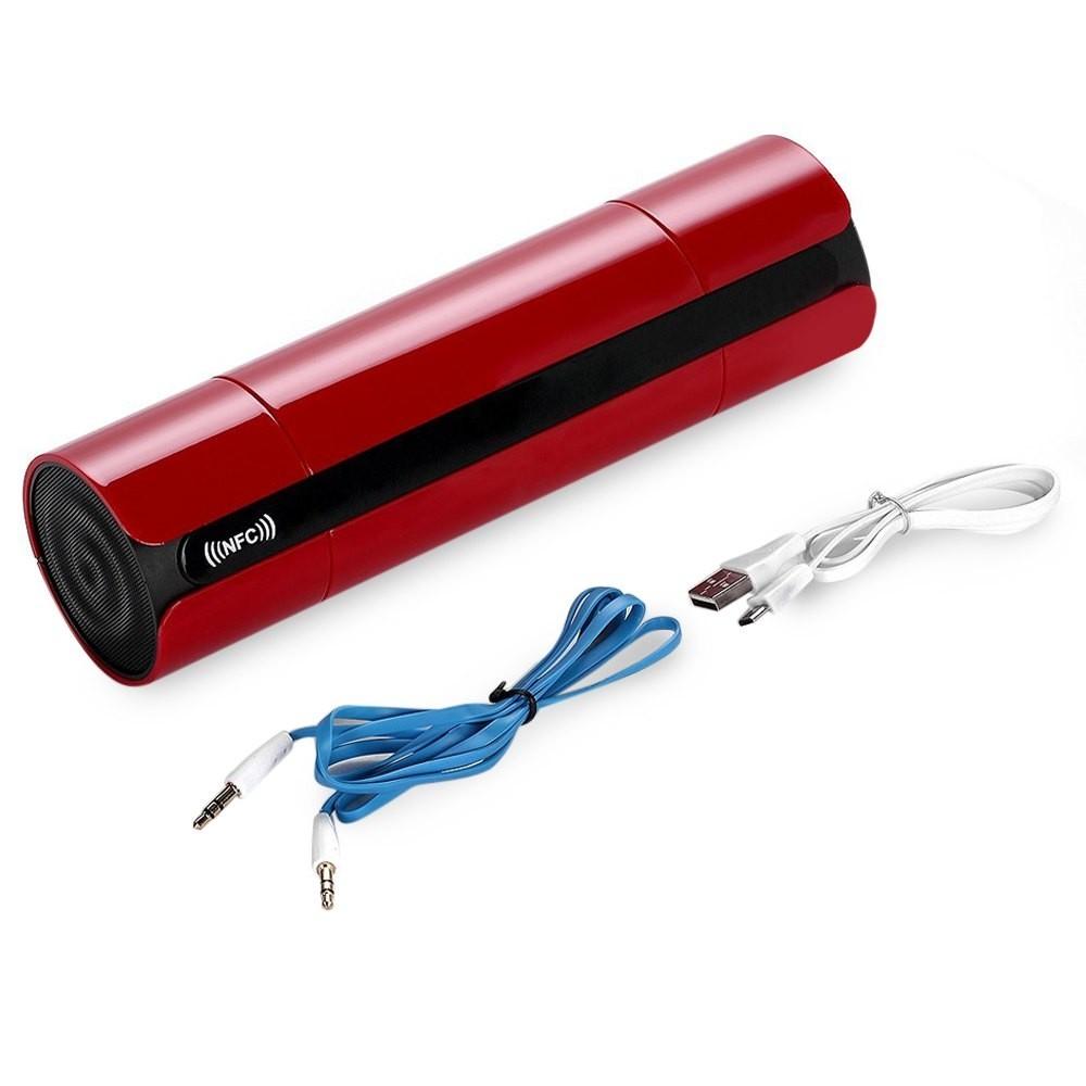 ถูก ไร้สายมินิไฮไฟลำโพงบลูทูธแบบพกพาลำโพง10วัตต์เครื่องขยายเสียงสเตอริโอที่มีวิทยุFM mic KR8800ของที่ระลึกฟรี!