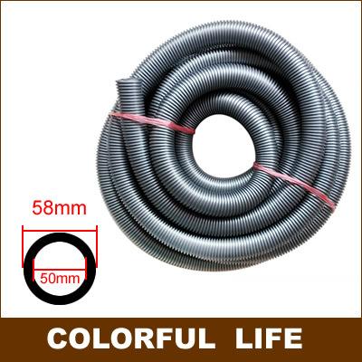 Vacuum cleaner accessories parts,Universal Vacuum cleaner thread Hose, bellows, straws, diameter 50mm/58mm,2 meters long,(China (Mainland))