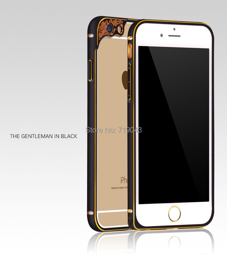 Ultra Thin Aluminum Bumper Luxury Metal Frame Case iPhone 6 Plus iPhone6 5.5inch 4.7inch - March_e-store store
