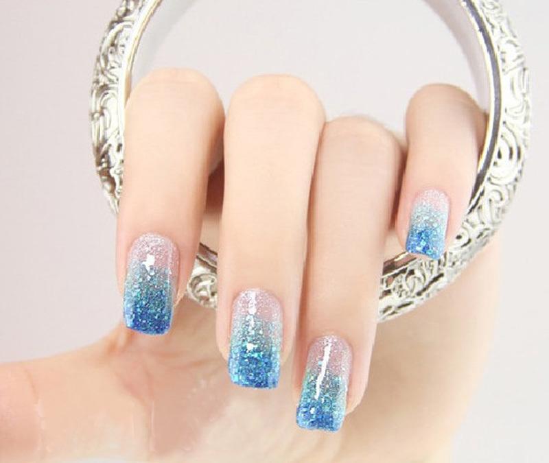 Дизайн ногтей пыль