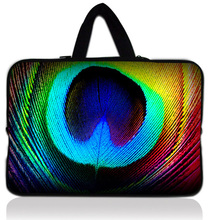 """Buy Colorful Feather 15"""" 15.4"""" 15.5"""" 15.6"""" Laptop Neoprene Soft Sleeve Bag Case Cover+ Hide Handle Acer Dell HP Sony ASUS for $11.89 in AliExpress store"""