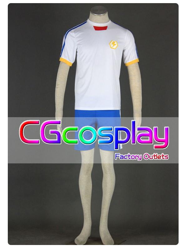 Free Shipping Cosplay Costume Inazuma Eleven Japan New Soccer Uniform New in Stock Halloween(China (Mainland))