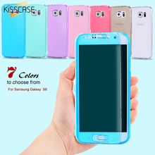 Buy KISSCASE Samsung S6 Cases Ultra Flip Soft TPU Gel Case Samsung Galaxy S6 Edge Plus Slim Crystal Clear Cover S7 Edge Capa for $1.79 in AliExpress store