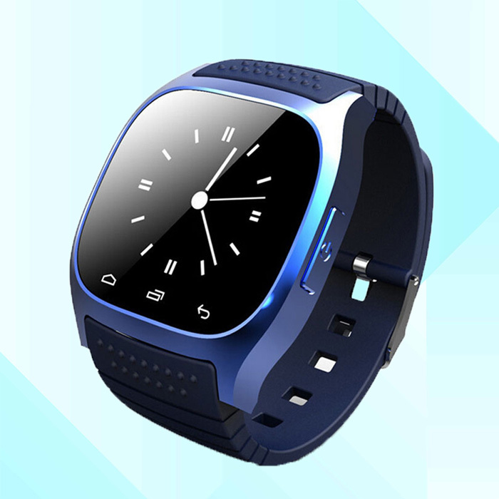 Android Bluetooth smartwatch 2015 Smart watch M26 reloj inteligente wearable devices telefono for iphone and Android phone(China (Mainland))
