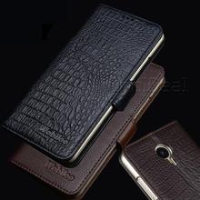Handmade Genuine Leather Stand Case For Meizu PRO 5 / MX5 Pro 5.7inch Flip Style Luxury Mobile Phone Cases+Card Holders
