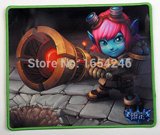 New High Quality Comfort LoL Cheap Gaming Large Durable Mouse Mat Pad(China (Mainland))